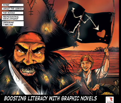 Timeline graphic novel