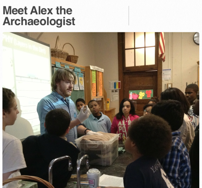 Meet Alex the Archaeologist