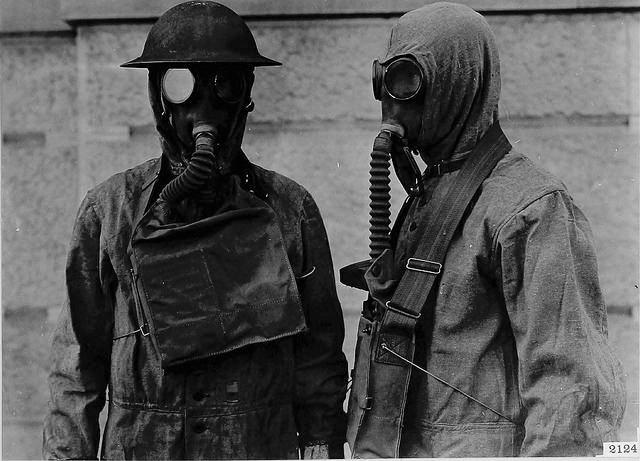 Chemical Warfare Ww1