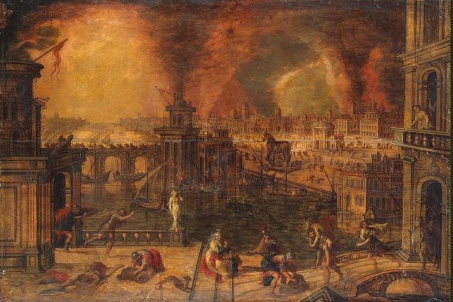 Image: Fire of Troy