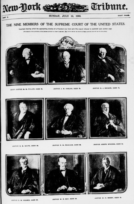 nine members of the Supreme Court of the United States