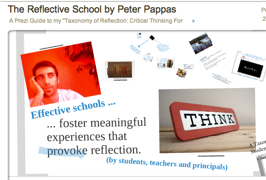A Prezi Guide To An Effective School The Reflective Student