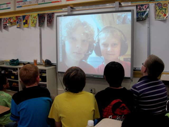 Innovative Elementary Classroom ~ Connecting classrooms with skype copy paste by peter