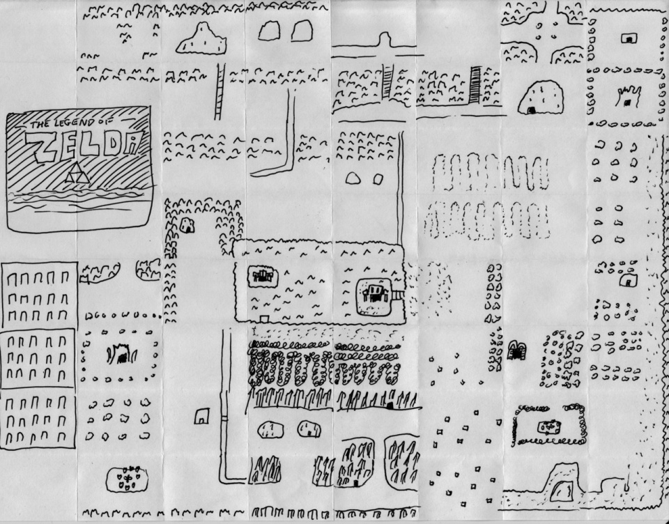 Mental mapping video game maps drawn from memory copy paste by the legend of zelda world map by themadjuggler gumiabroncs Image collections