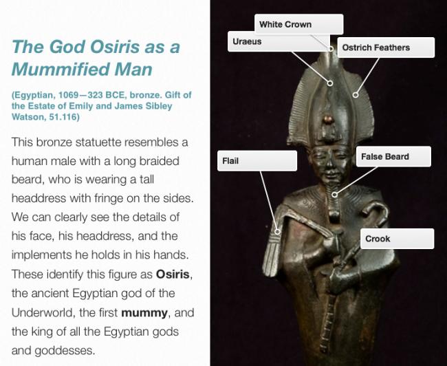 God Osiris