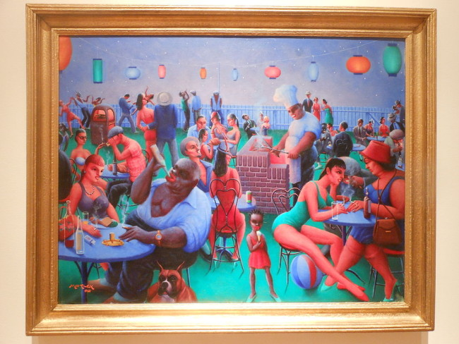 """Barbecue"" by Archibald Motley"