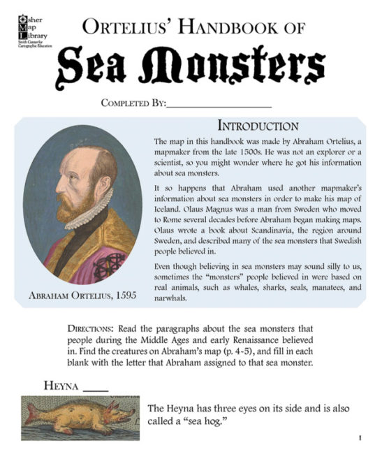 ortelius-handbook-sea-monsters