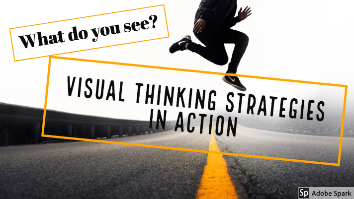 Visual thinking strategies in action