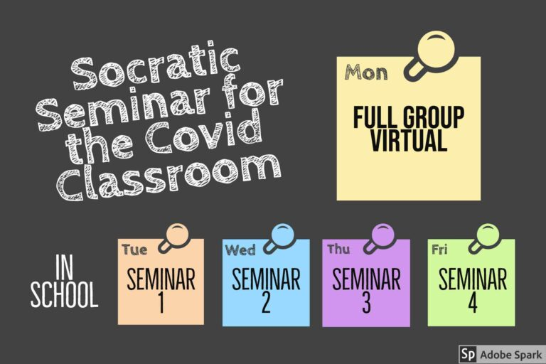 Socratic Seminar for the Covid Classroom