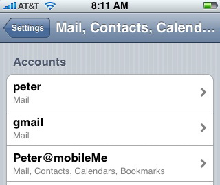 Iphone Phone Contacts